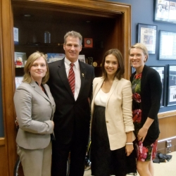 Meeting with Senator Scott Brown